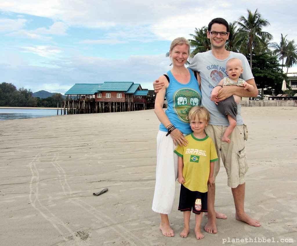 Wir in Thailand, Februar 2012