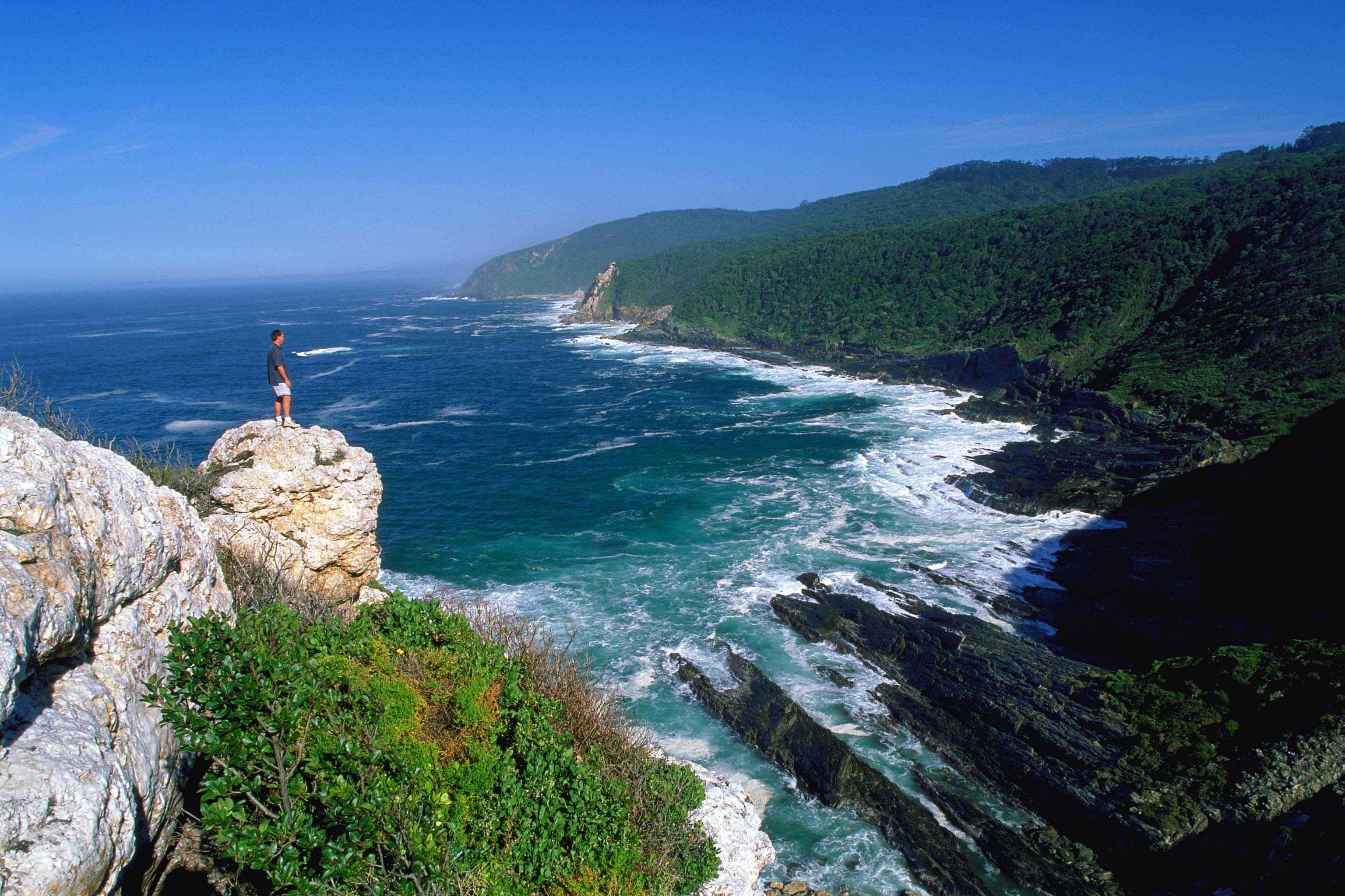 Südafrika_Blick auf die Wildcoast, Eastern Cape