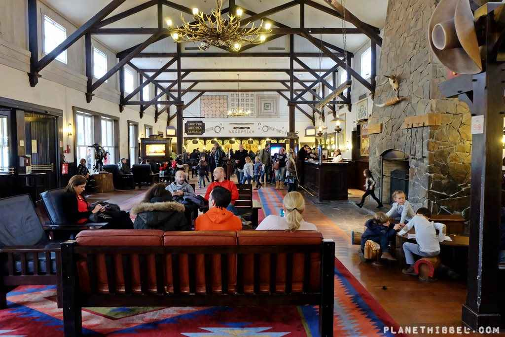 Disney Hotel Cheyenne im Western Style